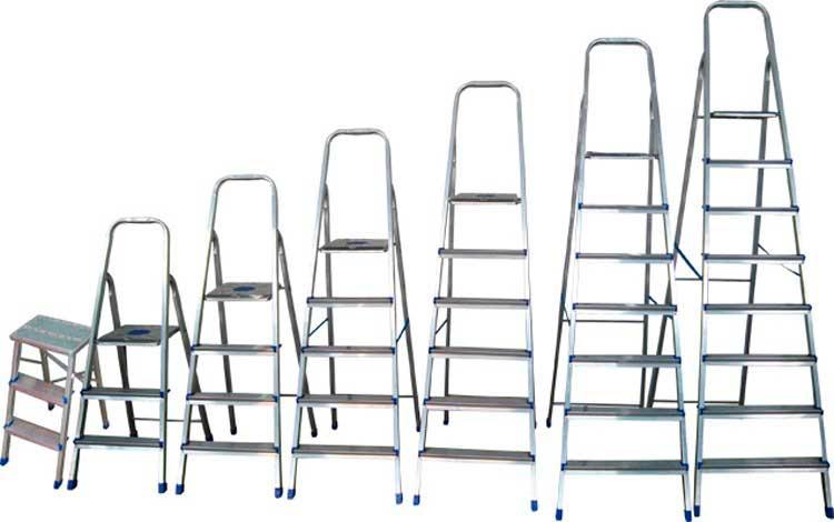 Teste em escadas domésticas